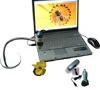 imagem de Microscópio digital portátil com MicroTouch e suporte com base flexível AM313T - Dino-Lite