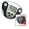 Pedômetro com Monitor de Pulsação DX8897-Prata