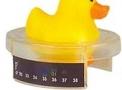 imagem de Termômetro para banho Patinho