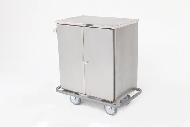 Carro Fechado para Transporte de Roupa MI-611-EFEC