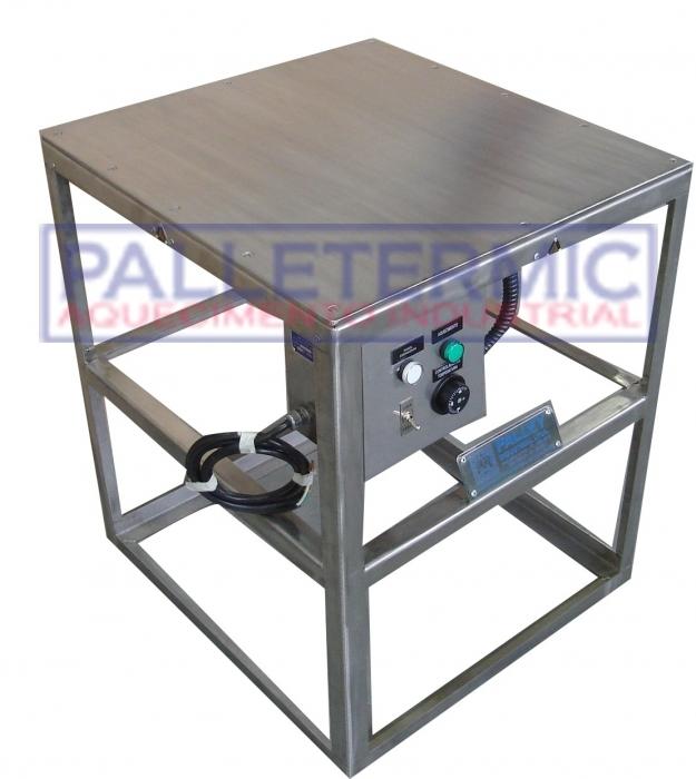 Placas e Chapas Aquecedores - Palley Industrial Industrial Ltda.