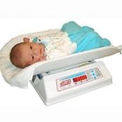 Balança digital infantil / neonatal com cuba