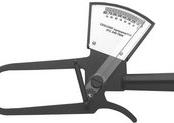 Adipômetro / Plicômetro Clinico boa precisão e sensibilidade de 1mm Cescorf- Cescorf  - Cescorf