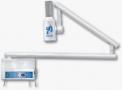 Aparelho de Raio X Odontologico Mod.Ion 70x de parede cor branco com comando acionador centesimal Intensidade do tubo 8mA- Procion  - Procion