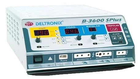 Bisturi de Alta Potência, 300 Watts B-3600 SPlus- Deltronix  - Deltronix