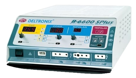 Bisturi de Alta Potência, 400 Watts B-6600 SPlus- Deltronix  - Deltronix