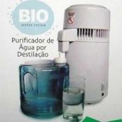 Destilador de Agua destila 3,8 litros em 4 horas Bio Water System- Odontobras  - Selecione a Voltagem: 110v. - Odontobras