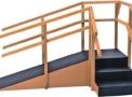 imagem de Escada de Canto com Rampa E Corrimãos Duplos 1015- Carci  - Carci