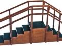 Escada Reta com Corrimãos Duplos 1040- Carci  - Carci