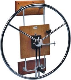 Roda de Ombro - Cromada 1150- Carci  - Carci