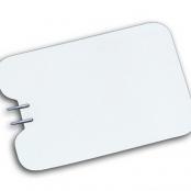 Placa neutra de aço inox flexível