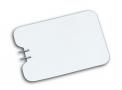 imagem de Placa neutra de aço inox flexível