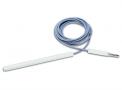 imagem de CANETA SIMPLE Para Cirurgias em Obesos (20 cm), com cabo de silicone (2,5 m), pino Ø6,35 mm CM08