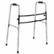 Andador Adulto de Alumínio - Ortopédico, Dobrável e Articulável (Cód. 192)