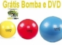 Kit Bola Bobath Mercur - Bola Suíça 45cm, 55cm e 65cm + DVD + Bomba para Inflar (Cód. 331)