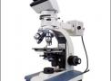 Microscopio de polarização Trinocular 40x a 640x iluminação Refletida e Transmitida