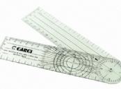 Goniômetro Grande 20 Cm - Medir Amplitude Articular (Cód. 510)