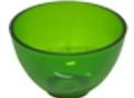 imagem de Cubeta Plástica em PVC Flexível para Clínicas de Estética tipo Tigela Mini - 60ml