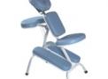 Cadeira Quick Massagem de Metal para Fisioterapia, Massagem Rápida e Shiatsu com Apoios