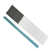 Agulhas para Eletrolipólise - Pacote com 10 UN - Diâmetro: 0,25mm - Comprimento: 50mm