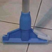 Garra plástica para cabo de MOP água