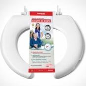 Assento Sanitário Para Cadeira de Banho Aberto - Mebuki