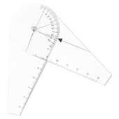 Goniômetro de Dedo para Medir Angulação da Amplitude Articular