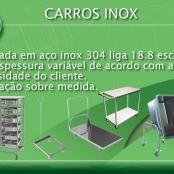 CARROS AÇO INOX (Fabricação Sob medida)