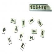 Números de Chumbo fabricado com base em Alumínio