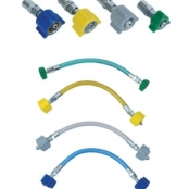 Extensões e conectores para gases