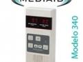 Oximetro de Pulso Portátil com alarme Audiovisual Modelo 340 Mediaid Inc.