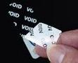 Etiquetas VOID Metalizada