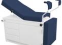imagem de Mesa ginecológica em fórmica com estofamento Azul - Engemóbile