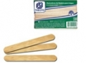 Abaixador de língua em madeira pacote com 100un - Theoto