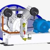 Compressor Medicinal Montado sobre Base EL-2030-B