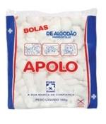 Algodão Bola 100 gramas Apolo