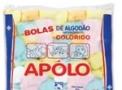 imagem de Algodão Bola Colorido 50 gramas Apolo