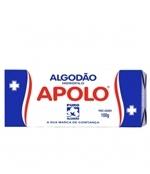 Algodão Caixa com 10 unidades 100 gramas Apolo