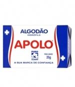 Algodão Caixa com 20 unidades 25 gramas Apolo