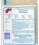 Bolsa Colostomia Medsystem 55mm com 10 unidades Flexor