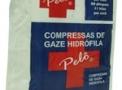 imagem de Compressa de Gaze 11 Fios com 500 unidades Pelô