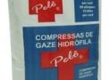 imagem de Compressa de Gaze 13 Fios com 500 unidades Pelô