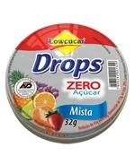 Drops Diet Misto 32gr Lowçucar