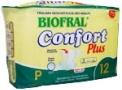 Fralda Geriátrica Confort Plus Pequena com 12 unidades Biofral