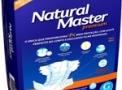 imagem de Fralda Geriátrica Natural Master Noturna Média com 9 unidades Ever Green