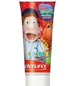 Gel Dental Cocoricó Com Flúor Morango 90grs Bitufo