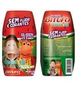 Gel Dental Cocoricó Sem Flúor Frutas Tropicais 100grs Bitufo