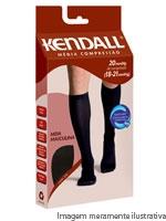 fc2d3b2f6 Meias Kendall Masculina Média Compressão Preta Grande G 1813 -  ...