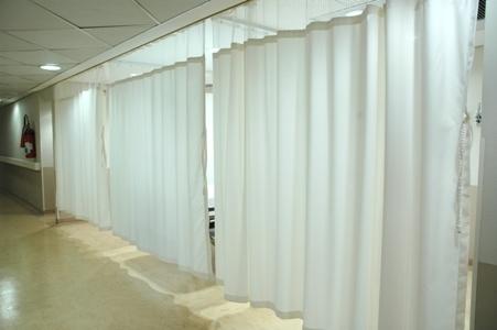 Divisoria branca tecido Bioactive com tela