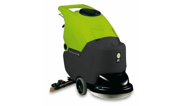 Lavadora e secadora automatica de piso lava até 1750m²/h